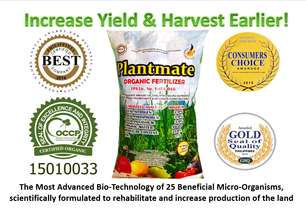 Plantmate Organic Fertilizer